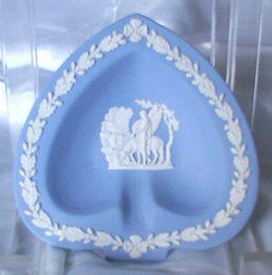 Beautiful Blue Jasperware Wedgwood Trinket Dish